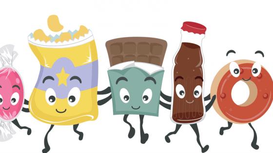 junk food friends