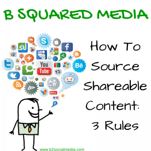 How To Source Shareable Content