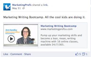 MarketingProfs CTA