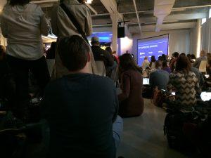 Social Media Week from the floor