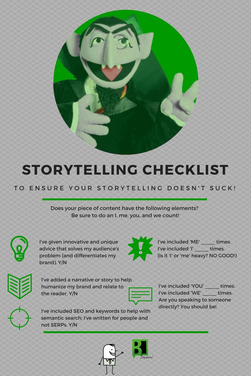 Storytelling Checklist