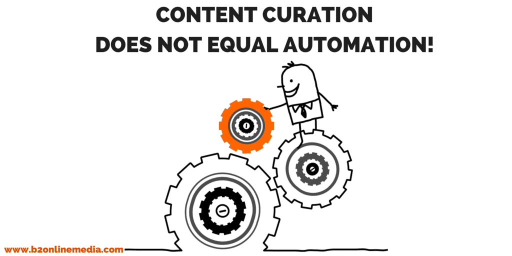 content curation isn't automation