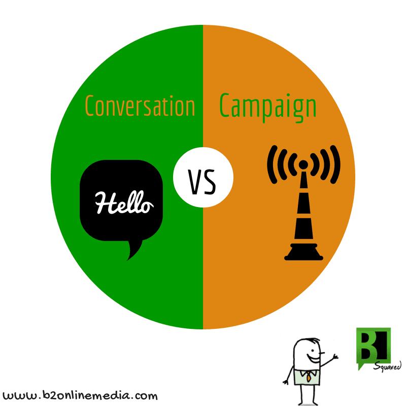 conversation vs campaign