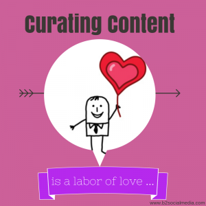 curating content is a labor of love