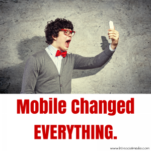 mobile changed everything