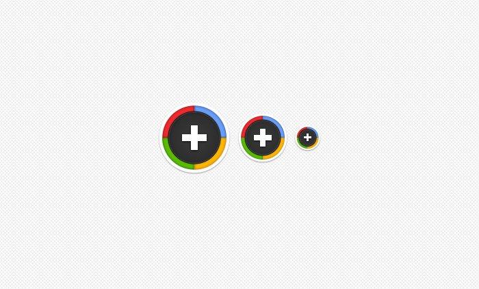 plus buttons