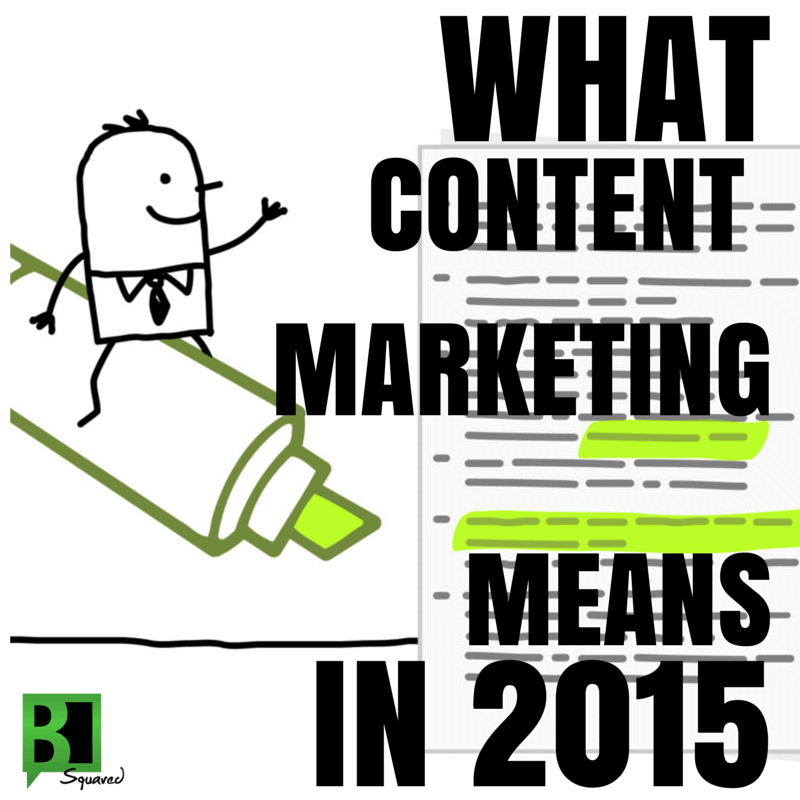 what content marketing means
