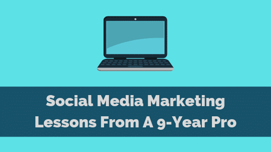 social media marketing lessons