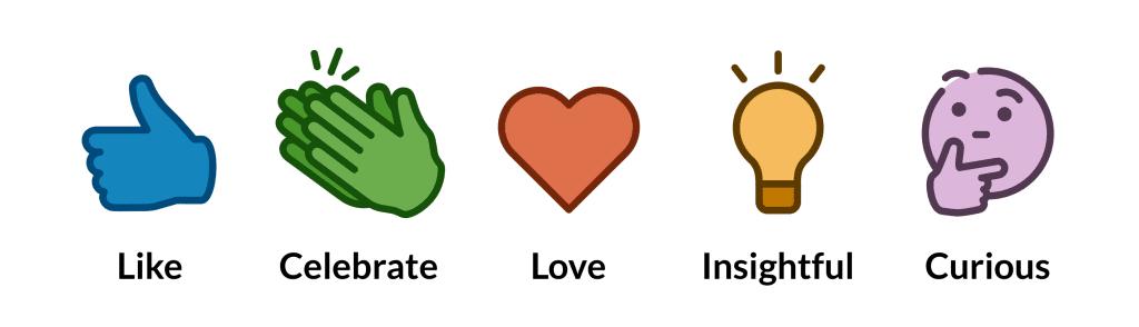 linkedin-reactions
