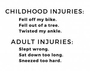 Childhood Injuries Meme