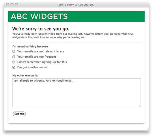 customer-feedback-unsubscribe
