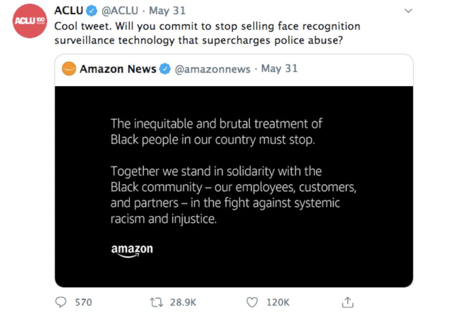 ACLU Amazon