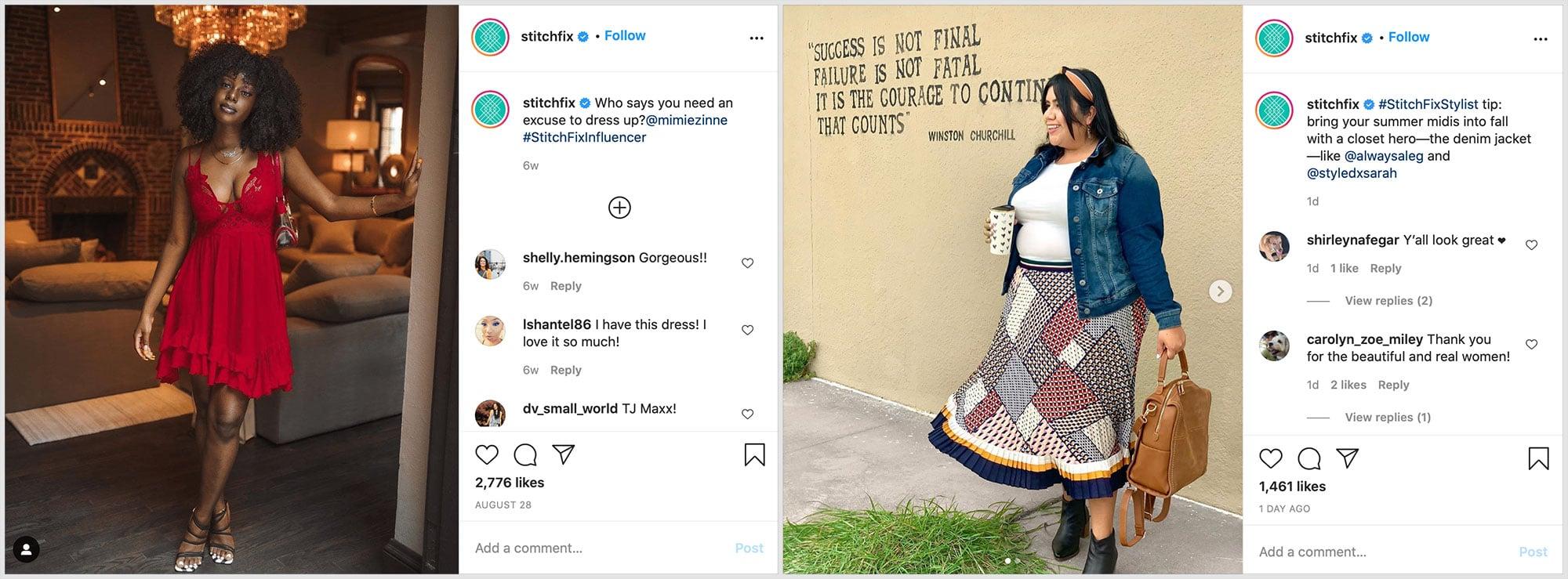 StitchFix Instagram